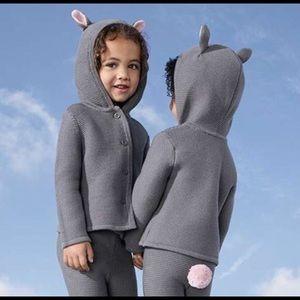 Victoria Beckham Baby Sweater/Pants Bunny Set